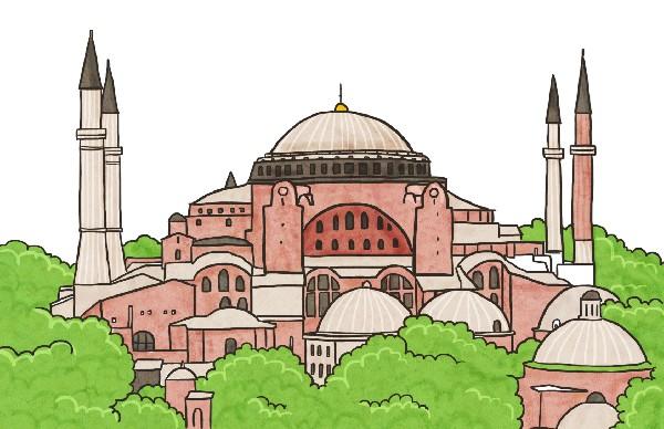 성당에서 이슬람 사원을 거쳐 박물관으로