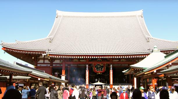 도쿄 어제와 오늘, 아사쿠사 코스