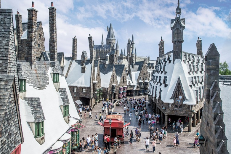 Hogsmeade&Hogwarts Castle