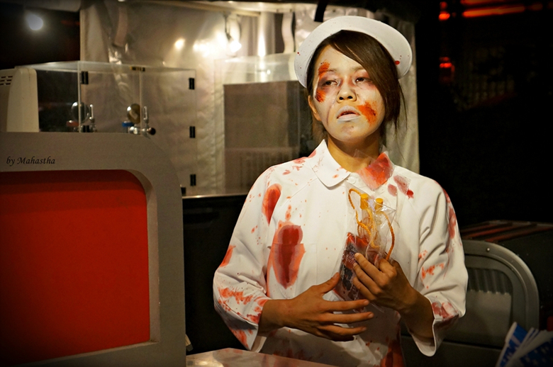 1 푸드카트 메뉴  좀비의 피