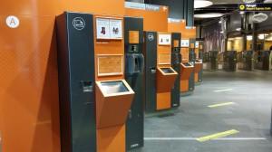 플뤼토겟(Flytoget) 티켓 자판기