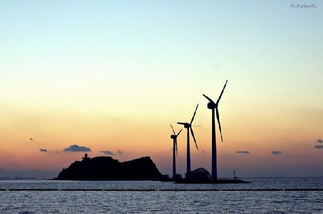 안산 탄도바닷길에서 만난 겨울바다 모습의 진수