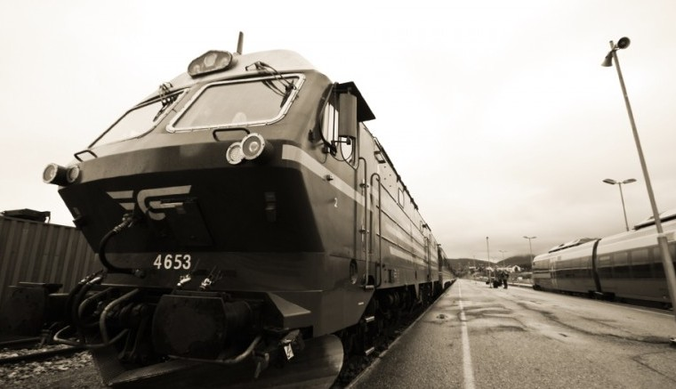 북극으로 가는 기차, 노르웨이 Nordland Line