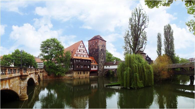 군사도시의 로맨틱한 변신, 독일 뉘른베르크