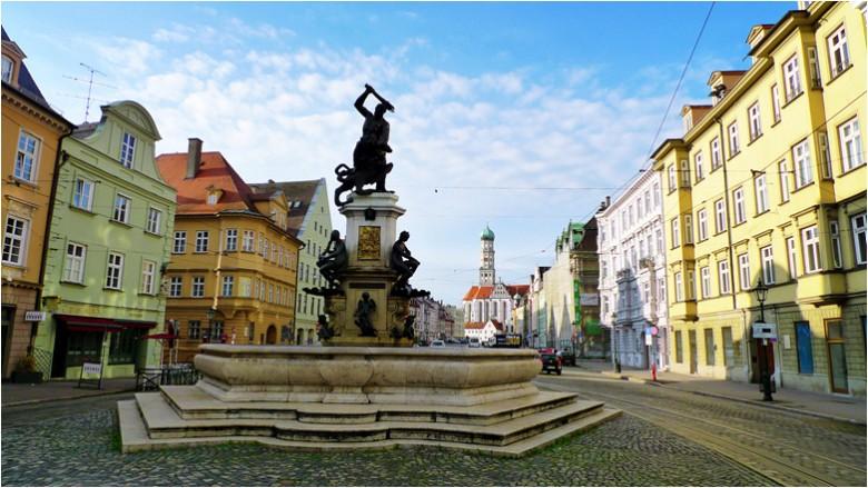 유럽 종교개혁의 중심지, 독일 아우크스부르크