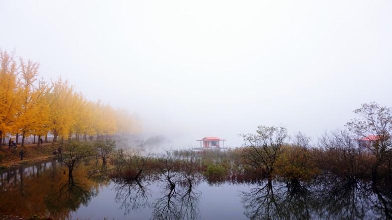 가을에 떠나는 출사지, 충북 괴산 문광저수지