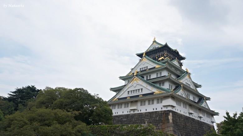 오사카 여행의 정점, 오사카성!