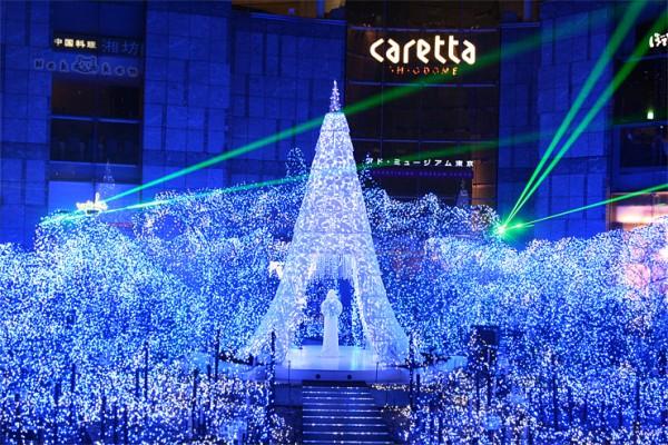 도쿄의 12월, 블루오션 일루미네이션-카레타 시오도메