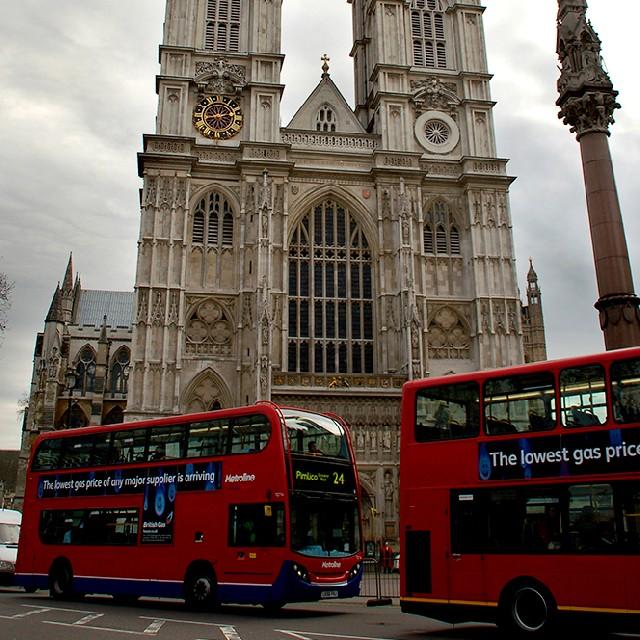 런던 2층 버스, 더블데커 버스 투어