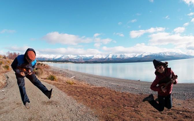 천국의 빛깔을 담은 푸카키 호수! 그러나 우리는…
