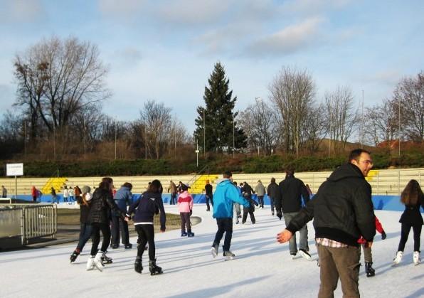 베를린, 추위를 잊은 스케이트 삼매경