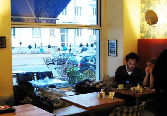 겨울을 녹이는 커피 한 잔, 베를린의 카페들