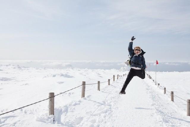 한라산 등반기, 이 겨울의 끝을 잡고!