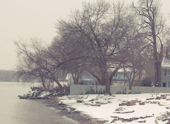 캐나다의 겨울 – 나이아가라 온 더 레이크