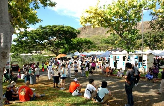 하와이 시장에 가면 뭐가 있을까?