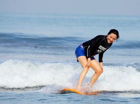 발리에서 서핑을 배워볼까?