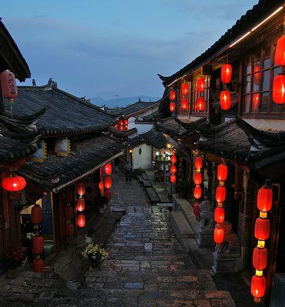 중국의 베니스, 운남성 여강고성 탐방!