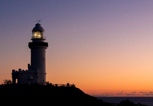 호주 최고의 바다에서 바라보는 일출