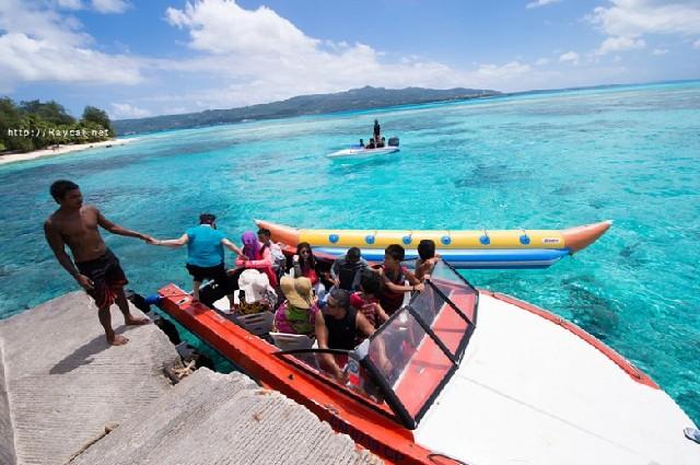 사이판 여행의 하이라이트, 마나가하섬