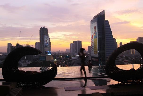 요즘 방콕에서 가장 핫한 호텔, 이스틴 그랜드 사톤