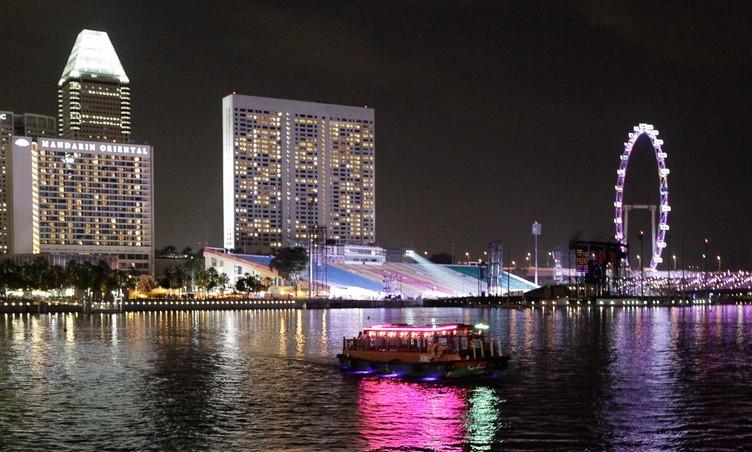 싱가포르, 그 아름다운 밤에 대하여!
