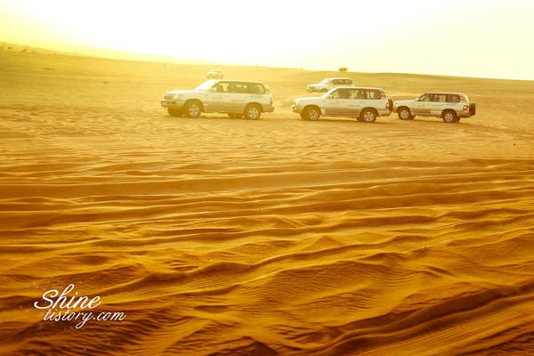 스릴과 낭만이 있는 두바이 사막 사파리~!