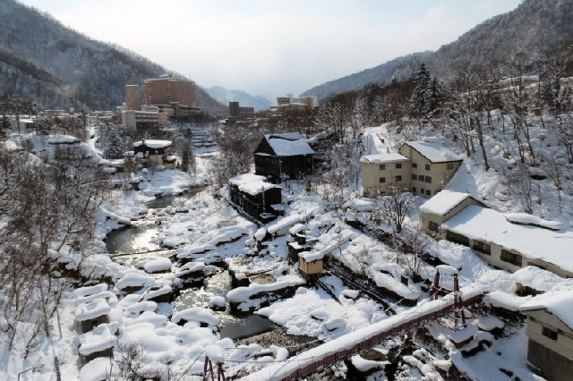 삿포로에서 가장 가까운 온천마을, 죠잔케이