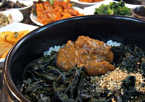 강원도의 건강식, 봄철 별미 곤드레밥!