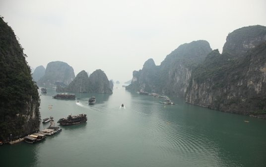 하롱베이, 배 위에서의 하룻밤