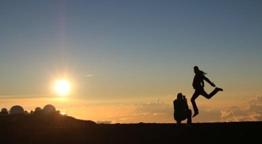 마우이, 하와이의 구름 위를 걷다!