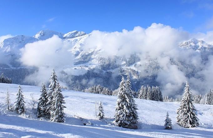 겨울의 여왕, 스위스 융프라우요흐의 진짜 설경!