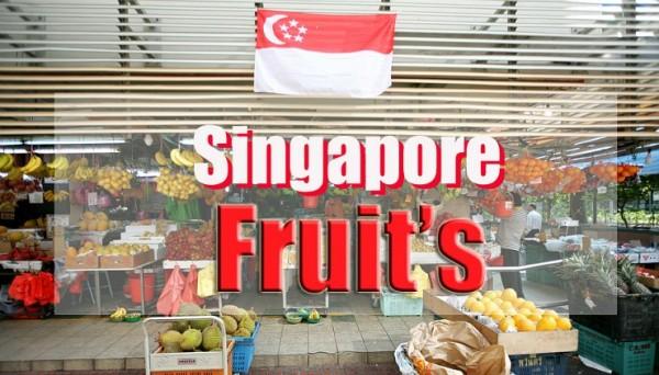 싱가폴의 과일들!