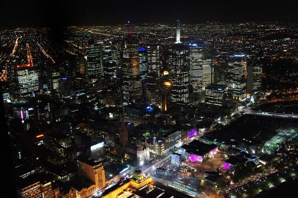 황홀한 야경, 멜버른 유레카타워!