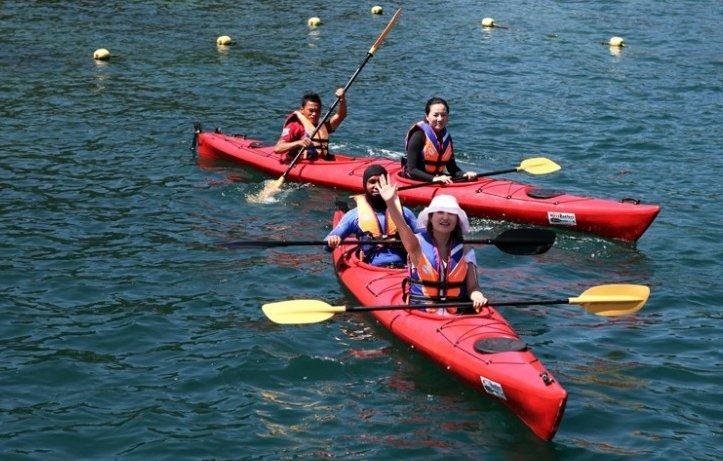 하루종일 놀아도 아쉬운 코타키나발루의 바다!