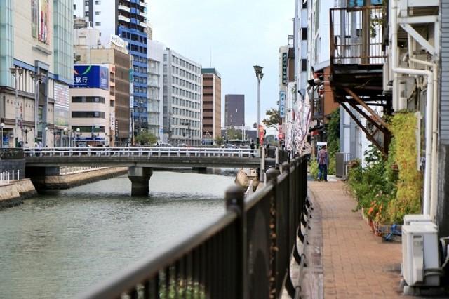아이와 함께 걷는 후쿠오카 도심 산책