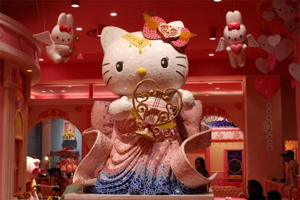 [일본 도쿄] 핑크빛 헬로키티의 귀여운 파라다이스, 비너스포트!