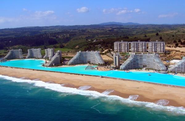 세계에서 가장 큰 수영장은?