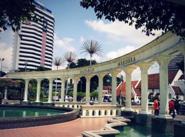 말레이시아 여행노트 1편 - 쿠알라룸푸르 시내 걷기