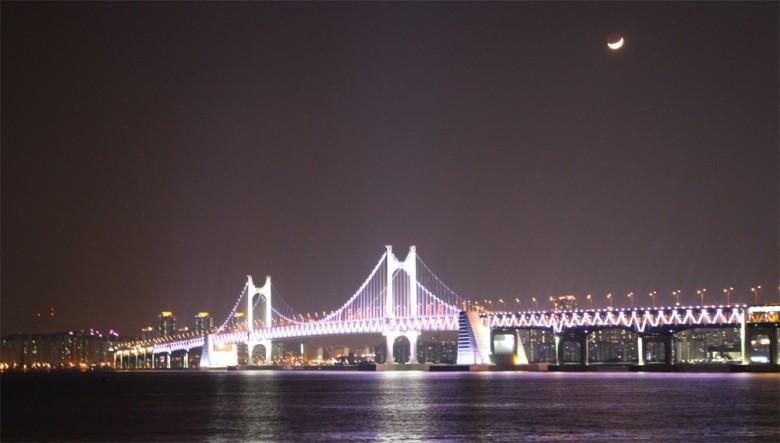 부산 명소 총집합! 화려한 해운대 마린시티의 밤