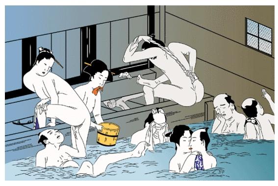 일본에 목욕문화가 발달하게 된 이유는 뭘까