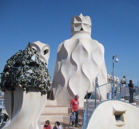 바르셀로나, 가우디 건축기행