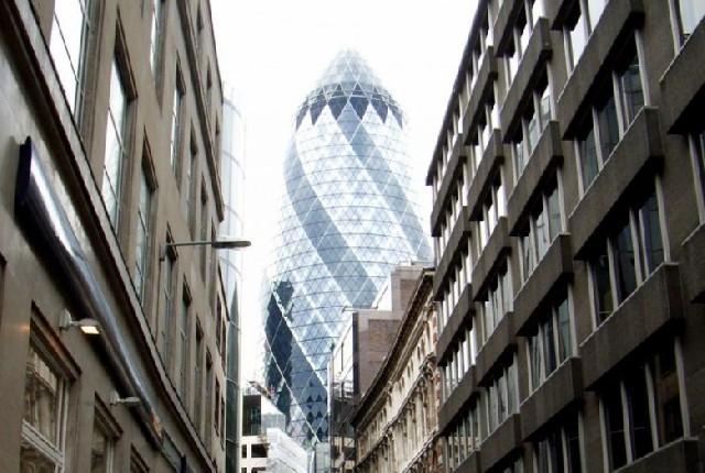 오이지 타워를 아시나요? 런던 30 St. Mary Axe