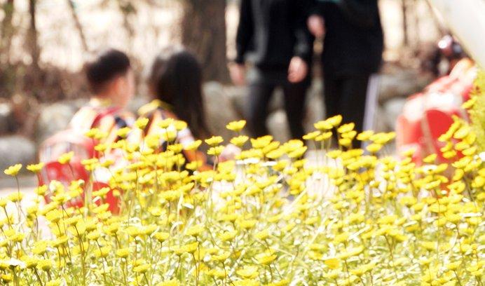 서울 어린이대공원, 봄날을 좋아하세요?