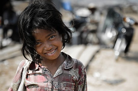 행복하니? 캄보디아의 아이들