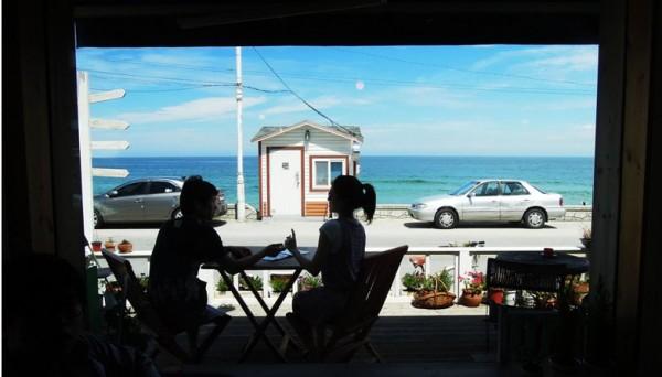 바다가 보이는 카페의 추억, 강릉 카페 카모메