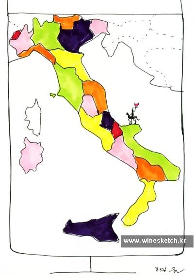 와인스케치 - 개성만점 이탈리아 와인!