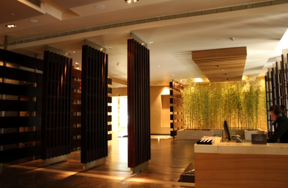 럭셔리의 진수를 보여주는, 북경의 호텔 로비