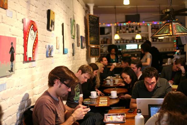 뉴욕 맨해튼의 베스트 카페 4!