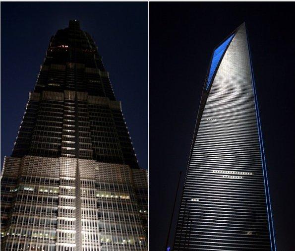 아름다운 상하이의 밤을 즐기다