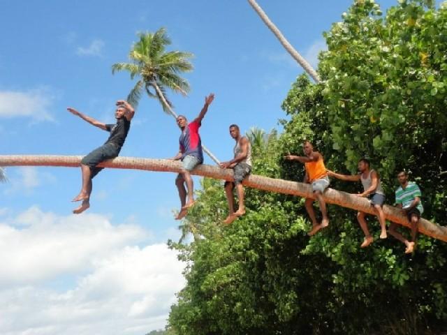 나는 피지에서 학창시절을 보냈다